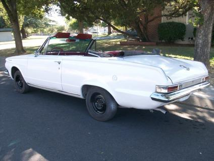 1963 plymouth valiant convertible for sale in stockton california classified. Black Bedroom Furniture Sets. Home Design Ideas