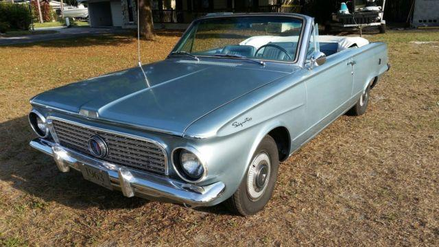 1963 plymouth valiant signet convertible for sale in co bluffs iowa classified. Black Bedroom Furniture Sets. Home Design Ideas
