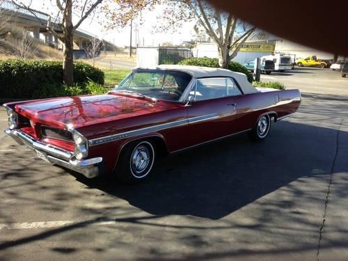 1963 pontiac bonneville convertible for sale in sacramento california classified. Black Bedroom Furniture Sets. Home Design Ideas