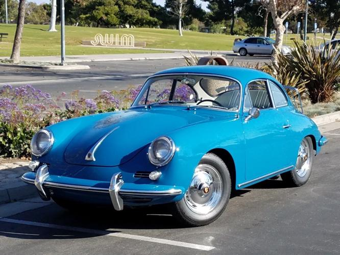Image result for porsche oslo blue