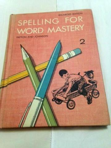 1963 Spelling for Word Mastery (Grade 2) Enlarged