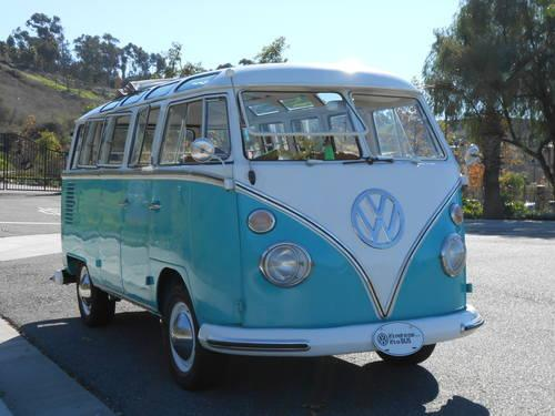 1963 Vw 23 Window Deluxe Microbus For Sale In San Clemente
