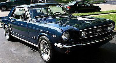 1964 1 2 1965 ford mustang coupe v8 289 4 speed excellent condition for sale in glen riddle. Black Bedroom Furniture Sets. Home Design Ideas