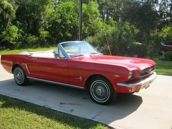 1964 1 2 ford mustang convertible for sale tx for sale in bahia mar texas classified. Black Bedroom Furniture Sets. Home Design Ideas