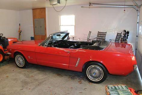 1964 1 2 ford mustang va for sale in roanoke virginia classified. Black Bedroom Furniture Sets. Home Design Ideas