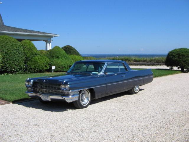 1964 Cadillac Blue For Sale In Bayville New York
