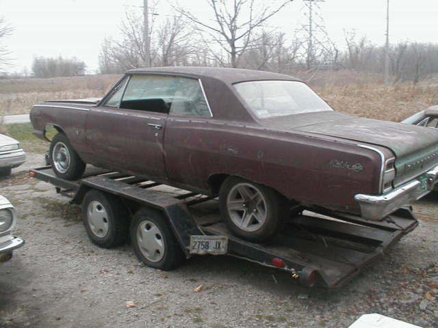1964 Chevelle SS body $850 00