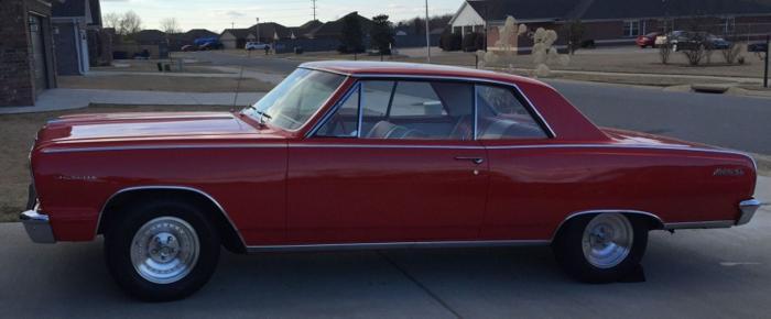 1964 Chevrolet Chevelle Malibu SS Red