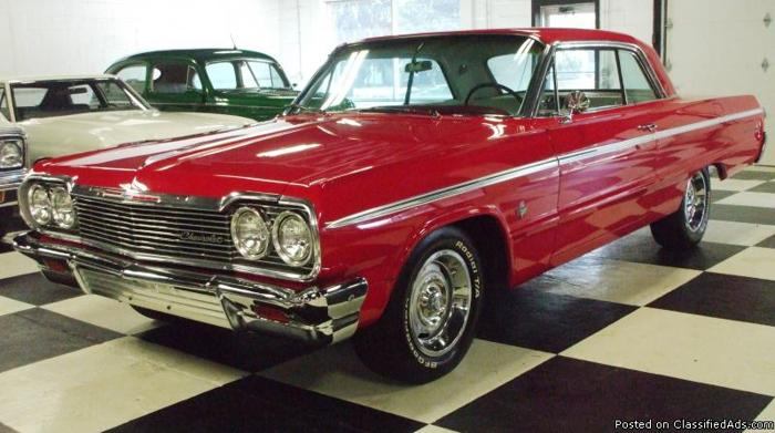 1964 chevy impala ss 409 425 hp 4 speed for sale in connellsville 1964 Impala Craigslist 1964 chevy impala ss 409 425 hp 4 speed