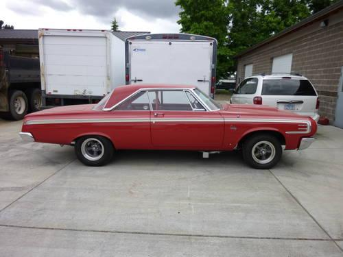 1964 Dodge 440 Hardtop Max Wedge Clone