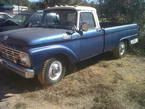 1964 ford f 250 camper special for sale in montgomery alabama classified. Black Bedroom Furniture Sets. Home Design Ideas