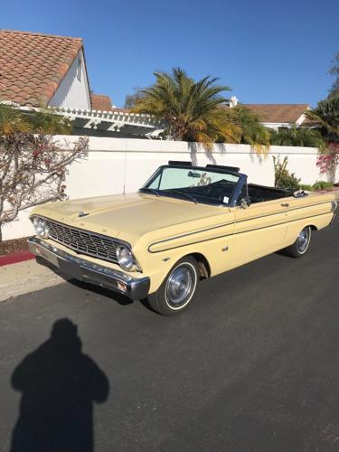 1964 Ford Falcon Futura Convertible Yellow Automatic V8 260 CID