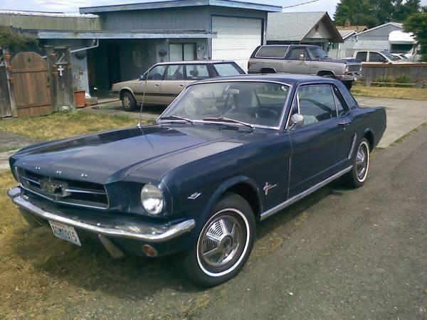 1964 ford mustang for sale wa for sale in agnew washington classified. Black Bedroom Furniture Sets. Home Design Ideas
