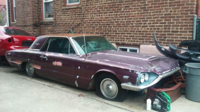 Vintage Cars For Sale In Jamaica: 1964 Ford Thunderbird Classic Car