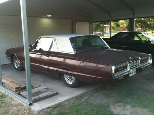 1964 Ford Thunderbird Coupe 390 C6 Runs Drives For