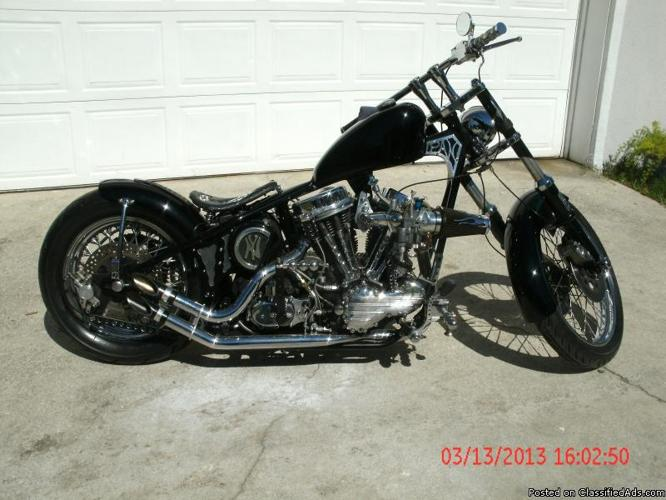 1964 harley panhead for sale in saint augustine florida classified. Black Bedroom Furniture Sets. Home Design Ideas