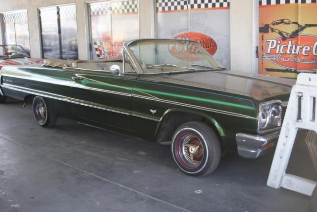 1964 Impala Convertible Low Rider With Hydraulics For Sale