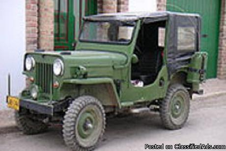 1964 jeep willys for sale in monroe michigan classified. Black Bedroom Furniture Sets. Home Design Ideas