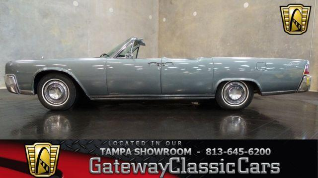 1964 lincoln continental convertible 511tpa for sale in. Black Bedroom Furniture Sets. Home Design Ideas