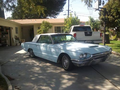 1964 thunderbird 390ci 73k miles for sale in riverside california classified. Black Bedroom Furniture Sets. Home Design Ideas