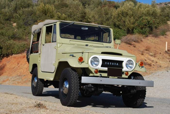 1964 Toyota Land Cruiser Fj40 Avocado Green For Sale In