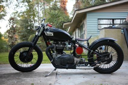1964 Triumph Bonneville Bobber For Sale In Deland Florida