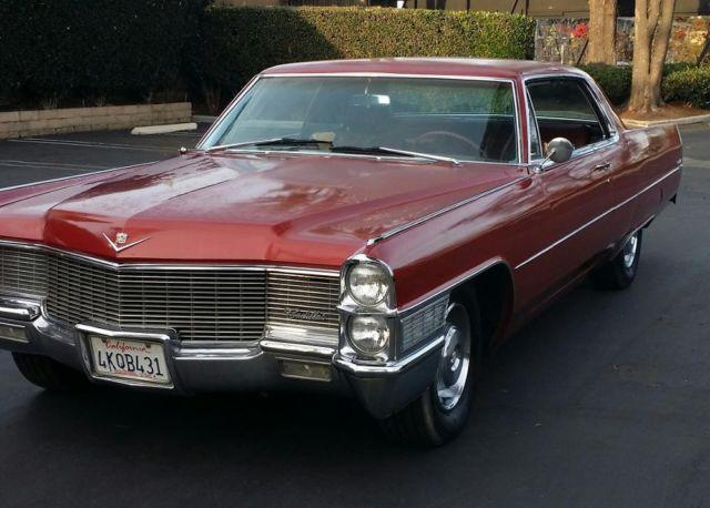 1965 Cadillac Deville For Sale: 1965 Cadillac Coupe Deville For Sale In Santa Ana