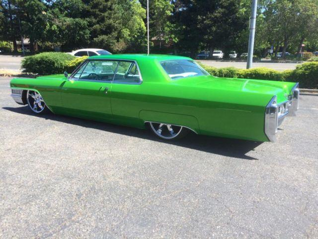 1965 Cadillac Coupe Deville Custom Show Car Air Ride For Sale In