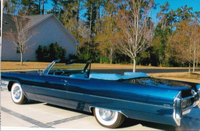 1965 Cadillac Deville Convertible For Sale In Garden City South