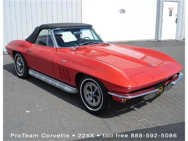 1965 chevrolet corvette for sale in napoleon ohio classified. Black Bedroom Furniture Sets. Home Design Ideas