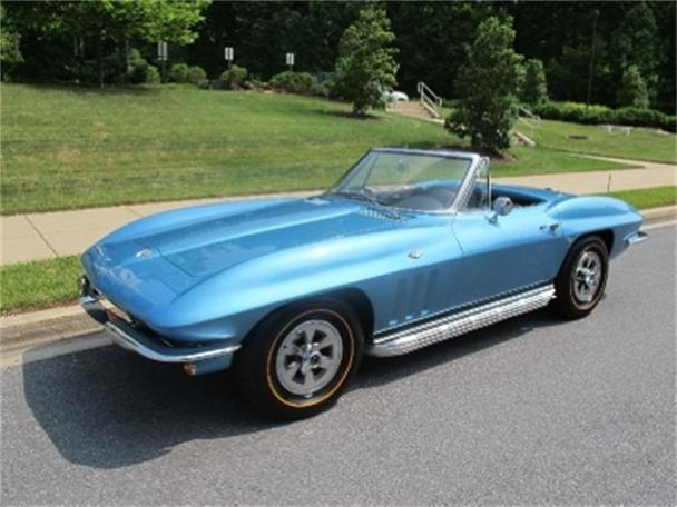 1965 chevrolet corvette stingray for sale in rockville. Black Bedroom Furniture Sets. Home Design Ideas