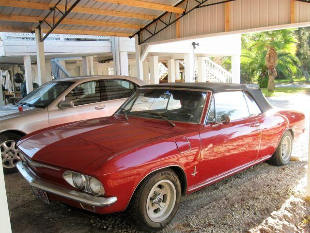 1965 corvair convertible only 47k miles for sale in panama city florida classified. Black Bedroom Furniture Sets. Home Design Ideas