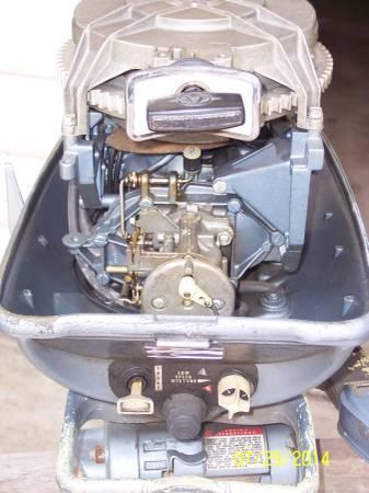 1965 Evinrude 18hp Motor For Sale In Nekoosa Wisconsin