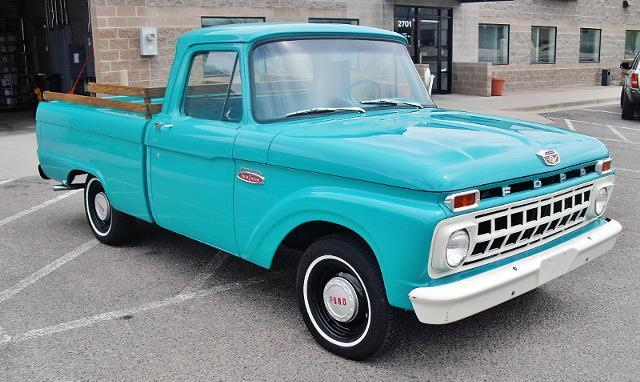 1965 Ford F 100 Short Bed Pick Up Near Original Condition