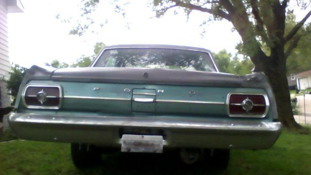 1965 ford fairlane for sale in topeka kansas classified. Black Bedroom Furniture Sets. Home Design Ideas