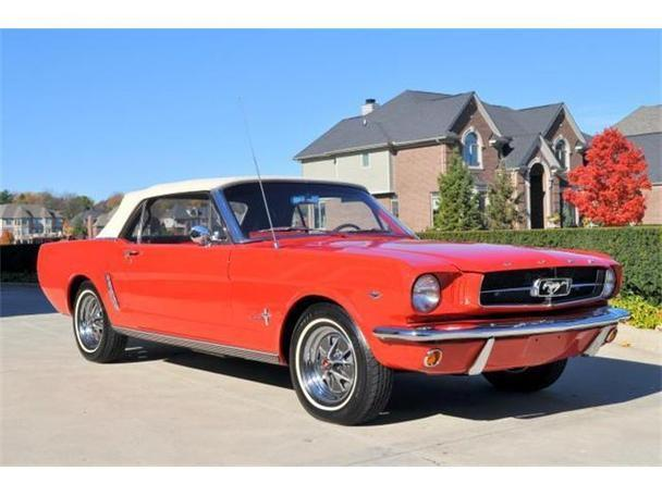 1965 ford mustang for sale in plymouth michigan classified. Black Bedroom Furniture Sets. Home Design Ideas
