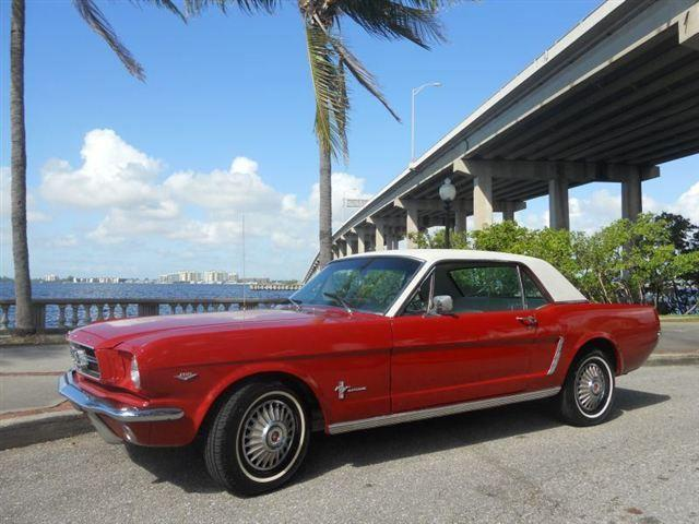 1965 ford mustang for sale in north fort myers florida classified. Black Bedroom Furniture Sets. Home Design Ideas