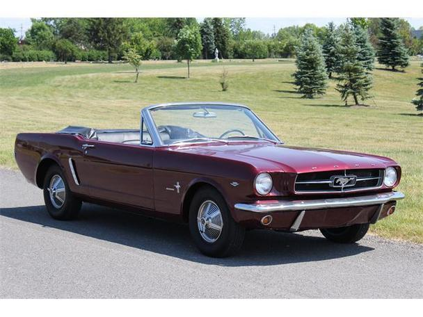 1965 ford mustang for sale in brook park ohio classified. Black Bedroom Furniture Sets. Home Design Ideas