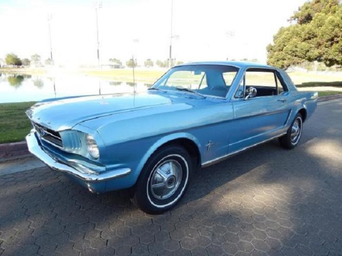 1965 Ford Mustang Base 3.3L Fastback Coupe Blue