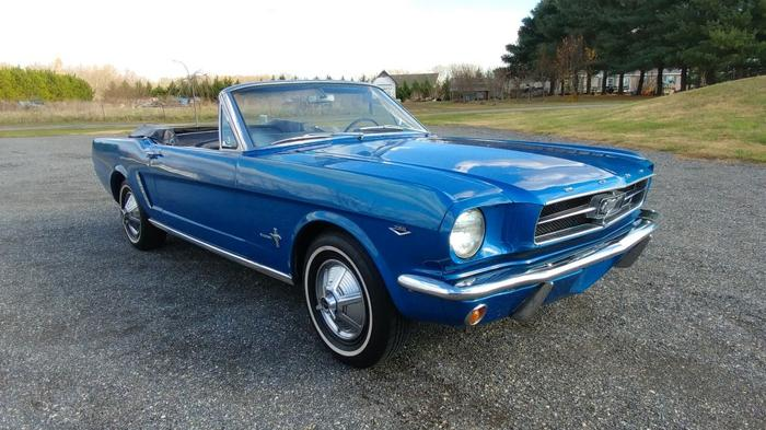 65 Mustang For Sale >> 1965 Ford Mustang Convertible 4 Speed