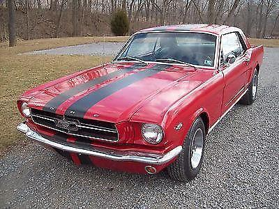 1965 FORD MUSTANG COUPE 289 AUTO TRANS