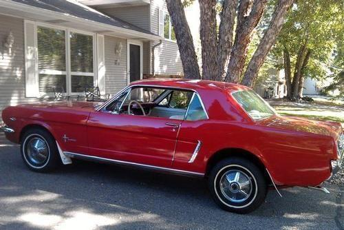 1965 ford mustang coupe for sale in minneapolis minnesota classified. Black Bedroom Furniture Sets. Home Design Ideas