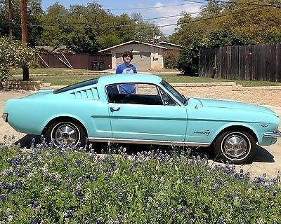 1965 ford mustang fastback 289 2bbl 3spd for sale in san antonio texas classified. Black Bedroom Furniture Sets. Home Design Ideas