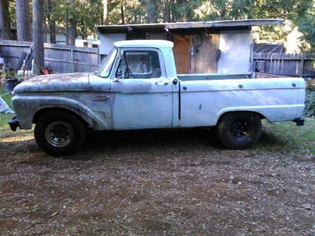 1965 ford swb truck for sale in magalia california classified. Black Bedroom Furniture Sets. Home Design Ideas