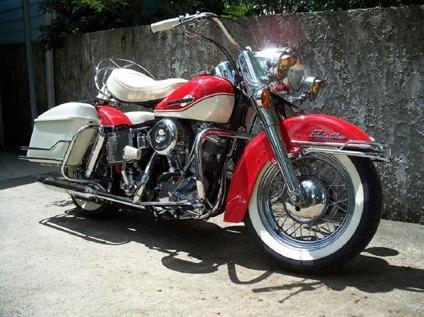 1965 Harley Davidson -Panhead FLH-