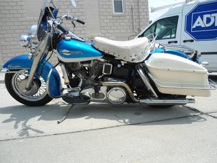 1965 Harley-Davidson FLH Panhead ElectraGlide