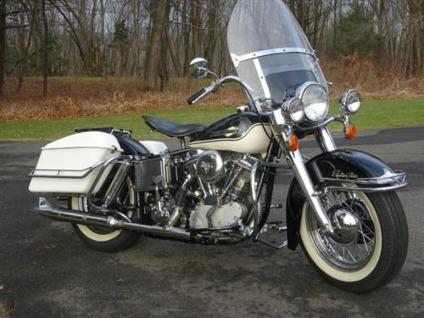 1965 Harley Davidson FLHFB Panhead