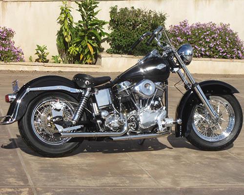 1965 Harley Davidson Panhead Custom