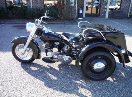 1965 Harley Davidson Police Special Servi-Car