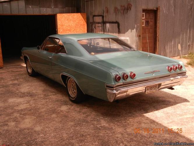 1965 impala ss cars for sale. Black Bedroom Furniture Sets. Home Design Ideas